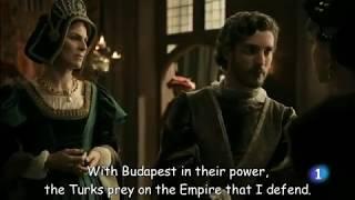 Sultan Suleiman invades Hungary, Queen Mary escapes (Carlos, rey emperador)