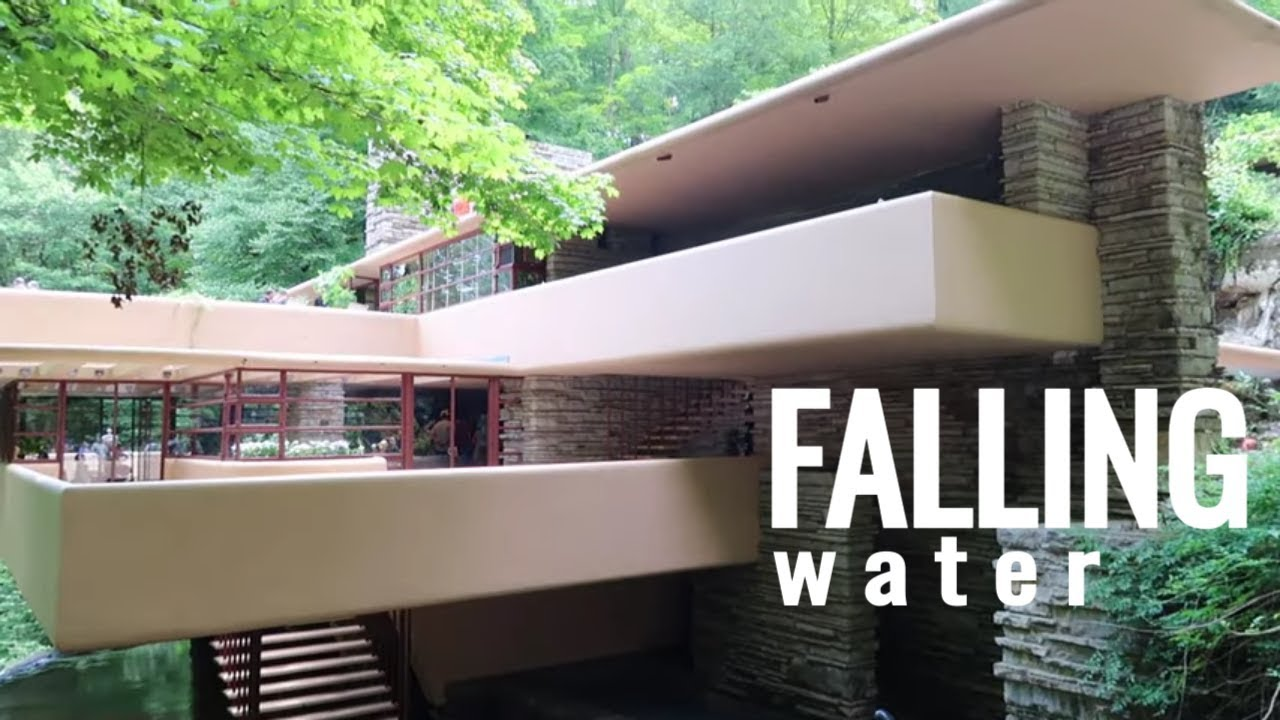 An Antique Mall Inside A Mall Plus Falling Water Frank Lloyd Wright House Youtube