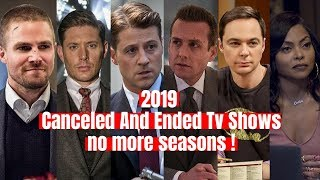 Top 2019 Canceled TV shows