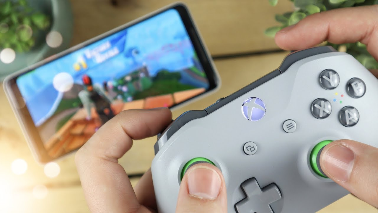 Playing Fortnite Mobile With An Xbox One Controller Is It Cheating Youtube