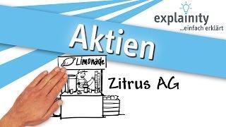 Aktien einfach erklärt (explainity® Erklärvideo)