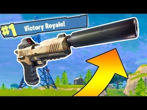 Fortnite suppresed win