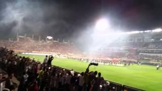 süper kupa 2014 FENERBAHÇE galatasaray (manisa) #lacivertadam