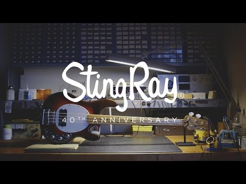 Ernie Ball Music Man StingRay Bass | 40th Anniversary