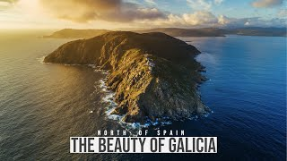 The Beauty of Galicia - 4K Aerial Video from the North of Spain