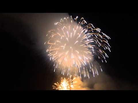 July Fourth 2015 Springfield, Mass. Fireworks