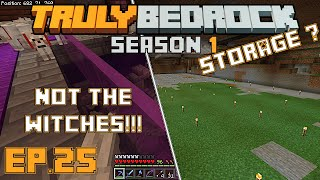 Truly Bedrock s1e25 The great dogtastrophe of 2019, and planning out a huge auto storage system
