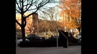 Skateboarding at Drexel University Part 1