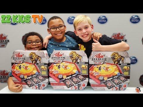 Secret Bakugan Battle! (ZZ Kids TV Vs Ninja Kids Vs SuperHeroKids Vs Kids Fun TV)