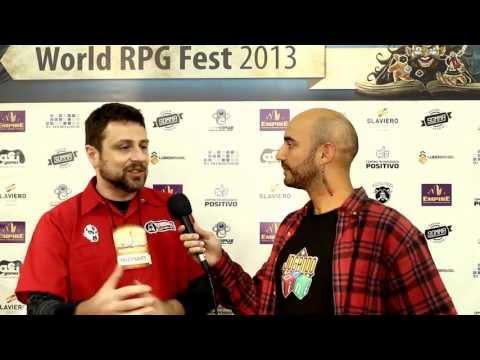 Percy de Montblanc - Jogando Offline Interview