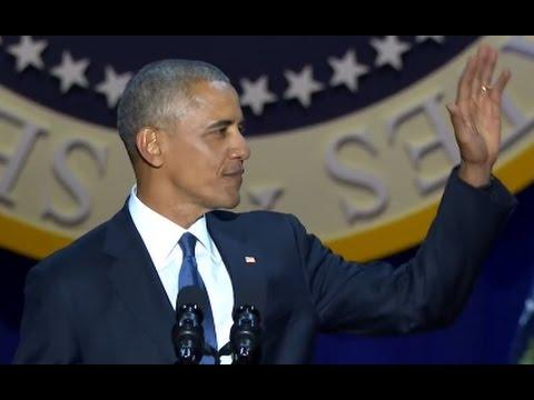 Obama Farewell Speech FULL Event   ABC News