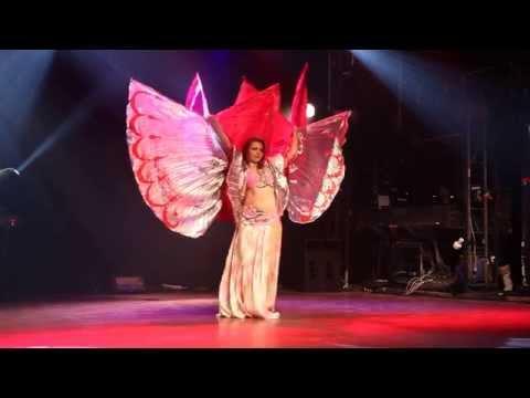 Triple Isis wings at Star Bellydancer Canada 2014, Cabaret category - WINNER Iana Komarnytska