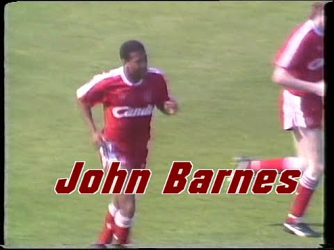 John Barnes Liverpool FC Goals Collection