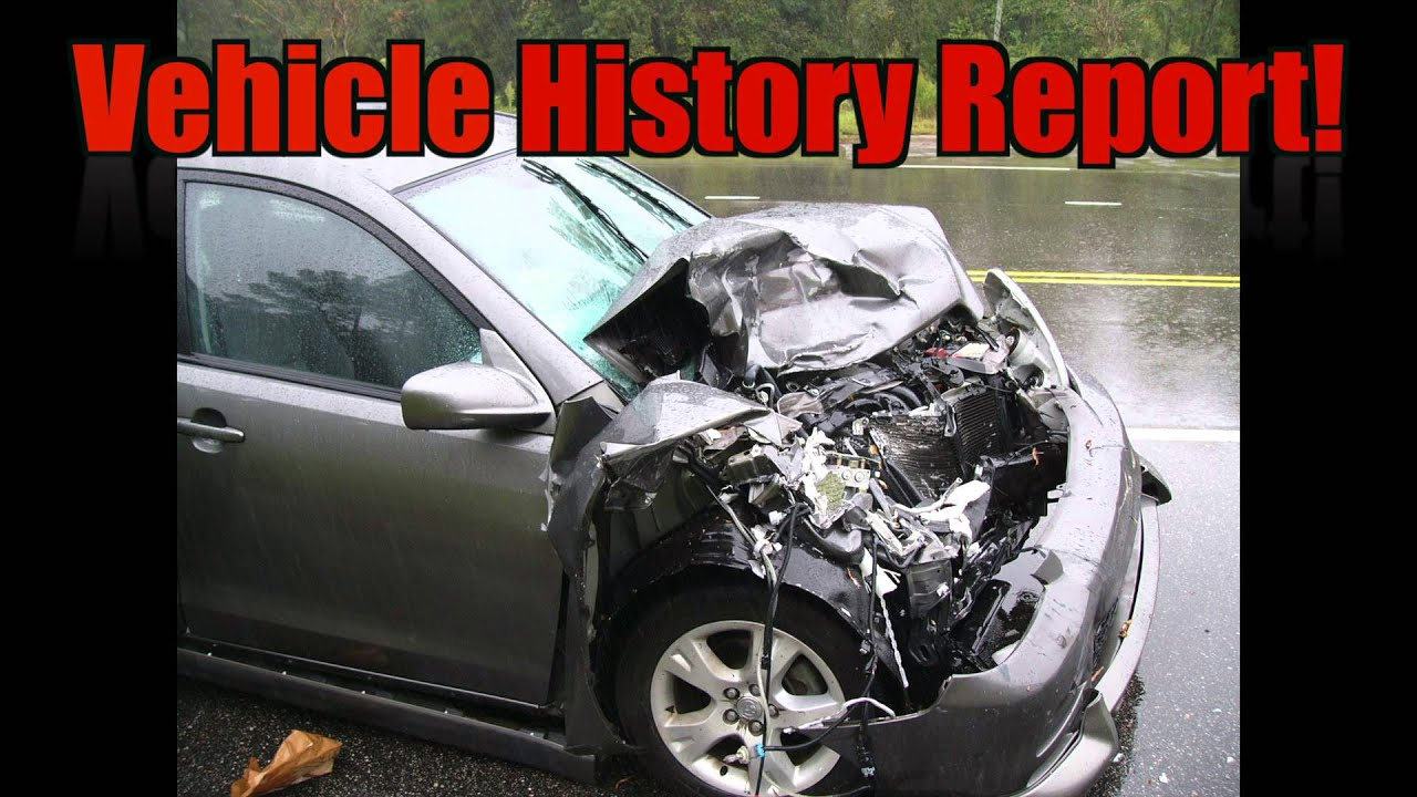 Vin Number Check And Vehicle History Report - YouTube