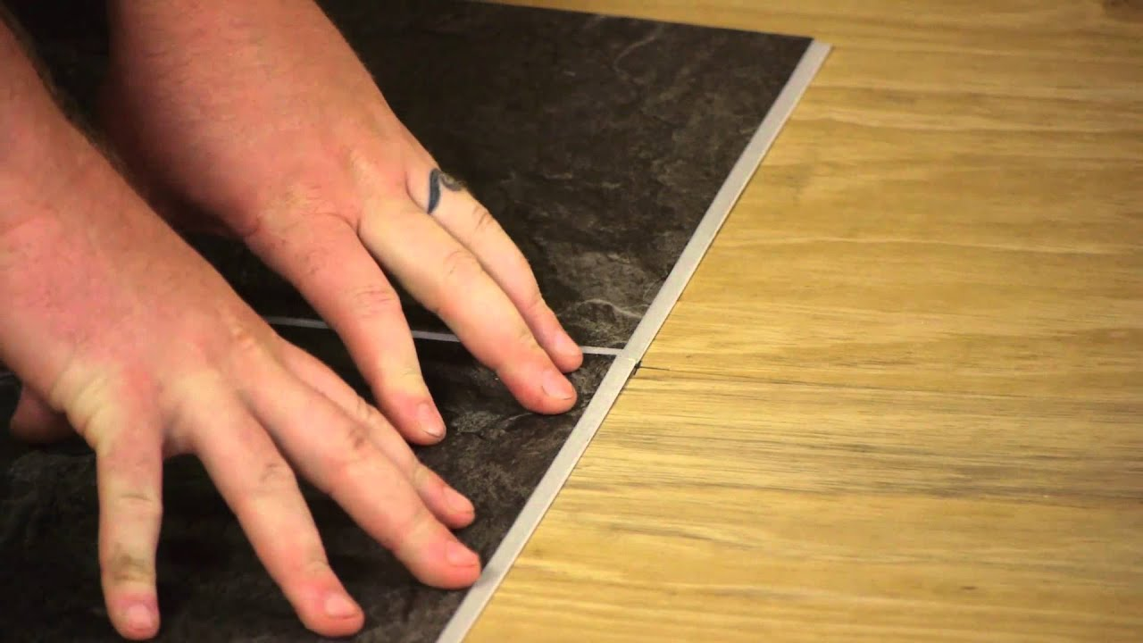How to install 12 by 12 self stick floor tiles flooring how to install 12 by 12 self stick floor tiles flooring maintenance youtube dailygadgetfo Image collections