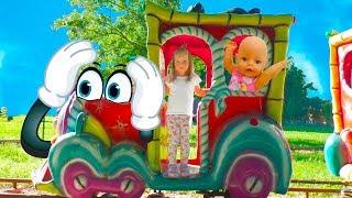 Кукла Беби Бон Происшествие в парке аттракционов Развлечения для детей Accident at Amusement park