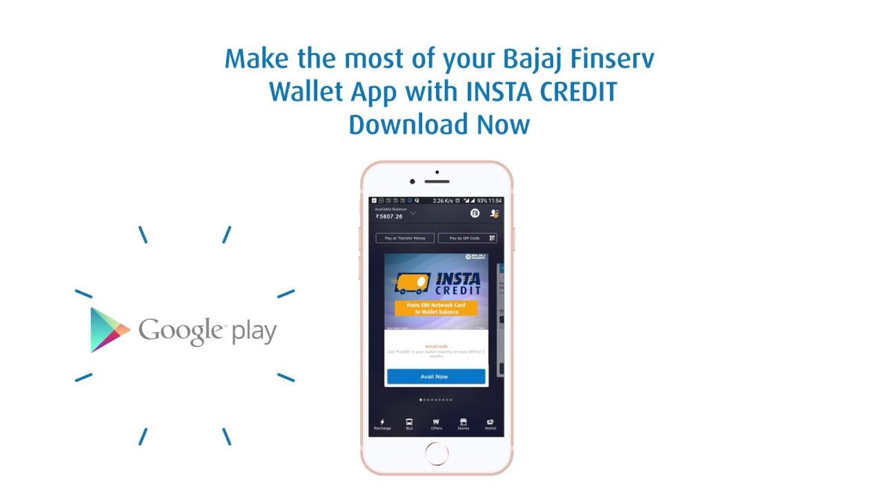 Exclusive Insta Credit on the Bajaj Finserv Wallet app Powered by Mobikwik