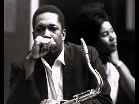 Coltrane and then-wife Juanita Naima Grubbs