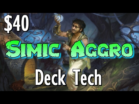 Mtg Budget Deck Tech: $40 Simic Aggro in Aether Revolt Standard!