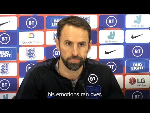 Gareth Southgate - 'Emotions Ran High During Sterling & Gomez Clash'