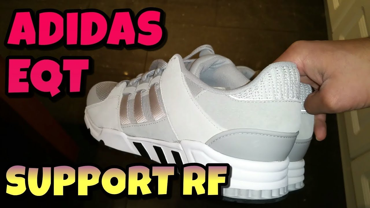 05c3408f2896 Adidas EQT Support RF Unboxing And Review - YouTube