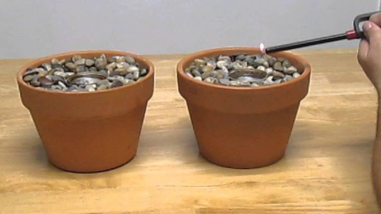 Homemade Indoor Gel Fireplace Pot Shtf Emergency Cooking