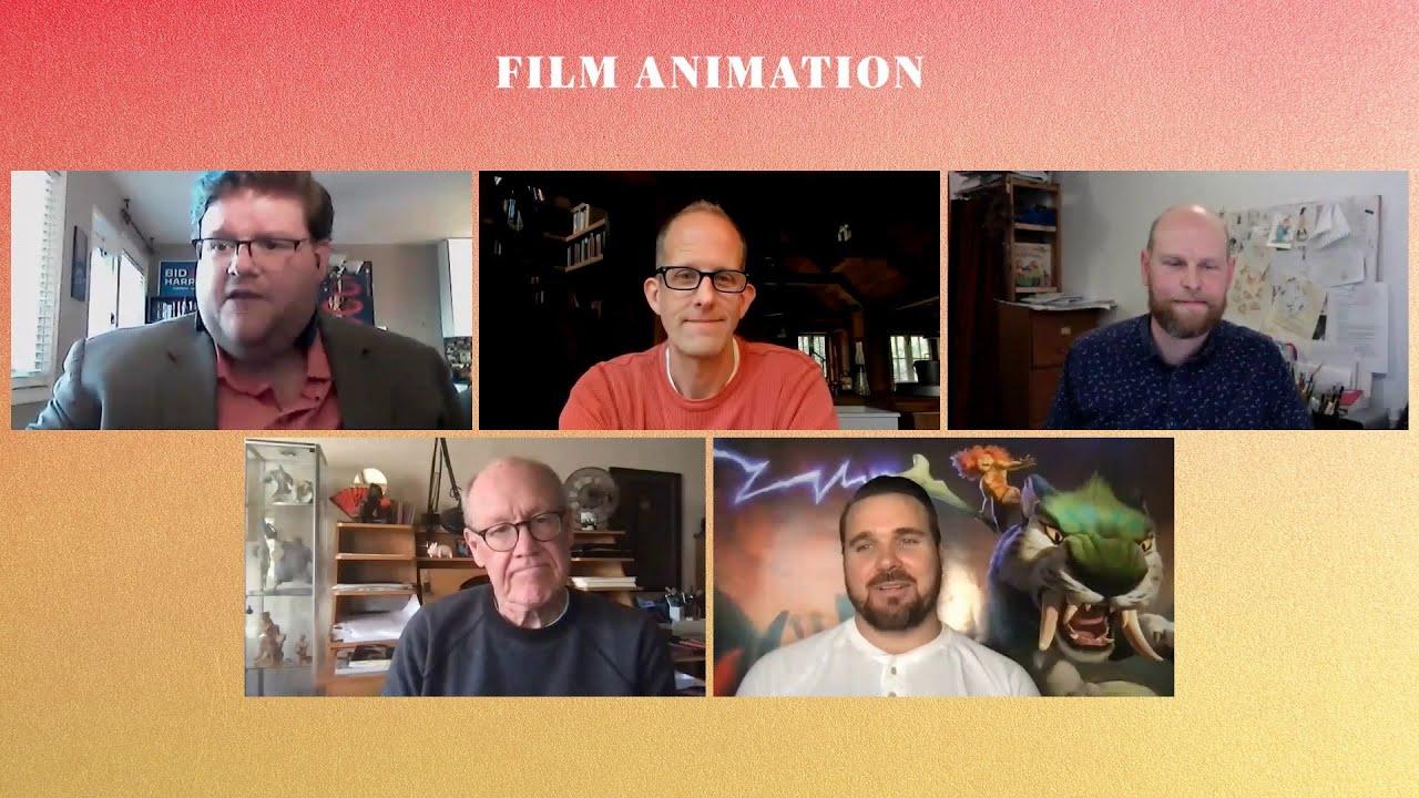 Film Animation Group Panel: Will Becher, Joel Crawford, Pete Docter, Glen Keane   GOLD DERBY
