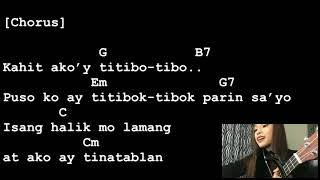 Titibo Tibo - Moira Dela Torre [Lyrics And Chords] Ukulele Tutorial