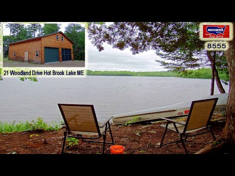 Maine Lake Home, Hot Brook Waterfront Property For Sale | MOOERS #8555