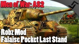 Men of War: Assault Squad 2 - Robz Mod - Falaise Pocket Last Stand Defense