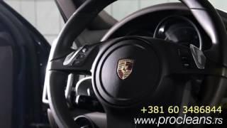 Porsche Cayenne: Ciscenje koznih sedista/Clean Leather Seats Interior Detailing