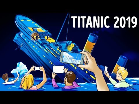 ¿Qué pasaría si el Titanic se hundiera hoy?