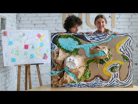Как из бумаги сделать макет города своими руками из бумаги
