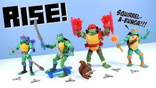 Rise of the Teenage Mutant Ninja Turtles Toys Reboot 2018
