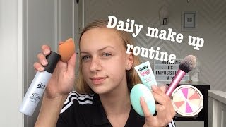 daily make up routine ||Eline