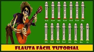 Coco - Juanita en Flauta Dulce