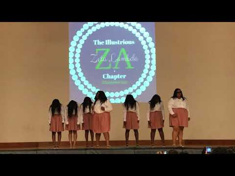 The Illustrious Zeta Lambda Chapter of Alpha Kappa Alpha