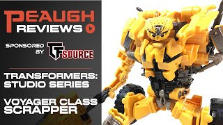 Video Review: Transformers Studio Series - Voyager Class SCRAPPER