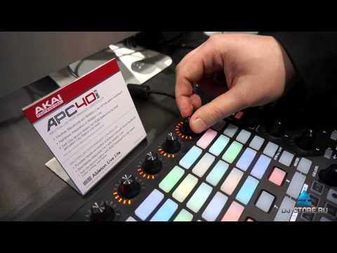 Musikmesse 2014: Akai APC40 MK II. Обзор от DJ-STORE.RU