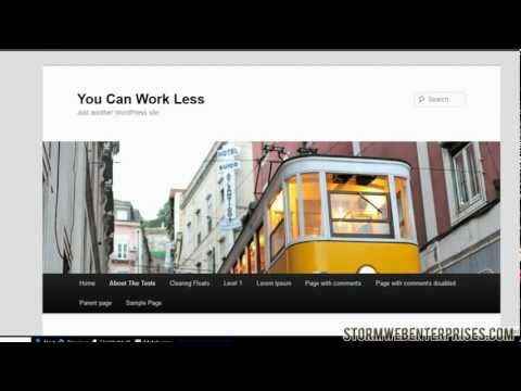 WordPress Posts & Pages Tutorial - How To Work with WP Pages & Posts