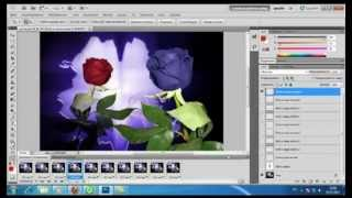 ☆ Photoshop урок анимация текста ☆
