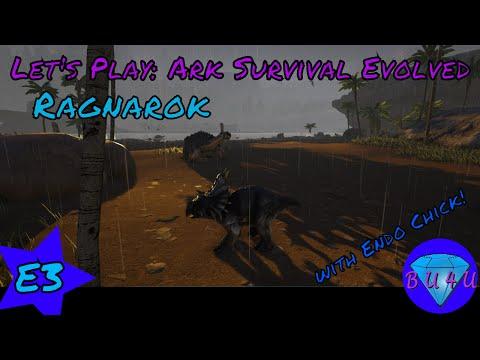 Birdmagnet - Ark Survival Evolved with Endo Chick   Ragnarok   Modded   Let's Play   S1E3