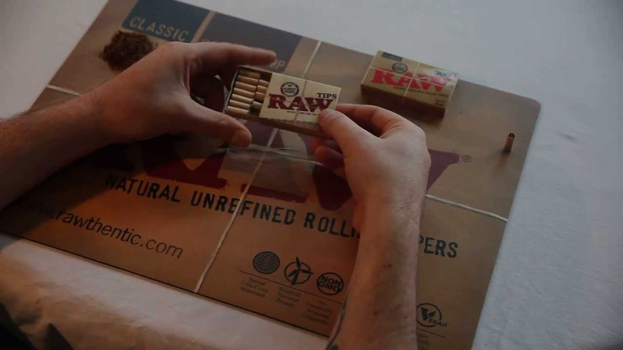 Raw 300 S Rolling Papers And Raw Pre Rolled Tips Youtube