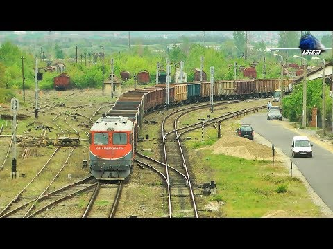LDE2100 60-1593-2 \u0026 Navetă de Piatră TFG Rock Train in Oradea - 22 April 2019