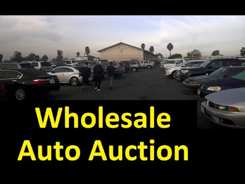 Wholesale Auto Auction Car Preview Video Bidding Live & Onli