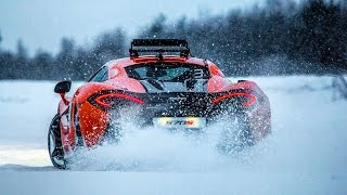 One of the best driving experiences of my life! Ice driving in a Mc...