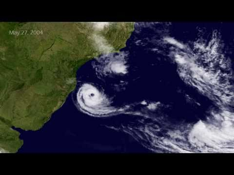 Cyclone Catarina Strikes Brazil (2004.03) [1080p]
