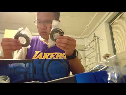 UNBOXING Audio Technica ATH-M50x!! BLUE/BLACK LIMITED EDITION!