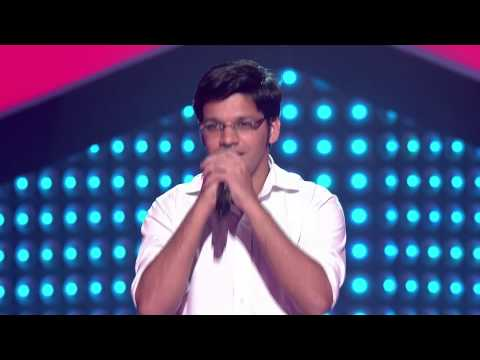 The Voice India - Akshay Ghanekar Performance in Blind Auditions