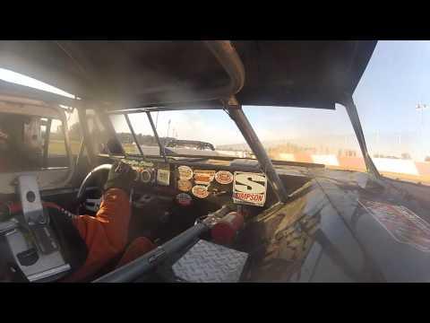 Millstream Speedway, 8/2/15.  Stock heat #3